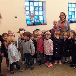 Jonas raconté aux maternelles de l'école Charles Péguy à Rueil-Malmaison (92)