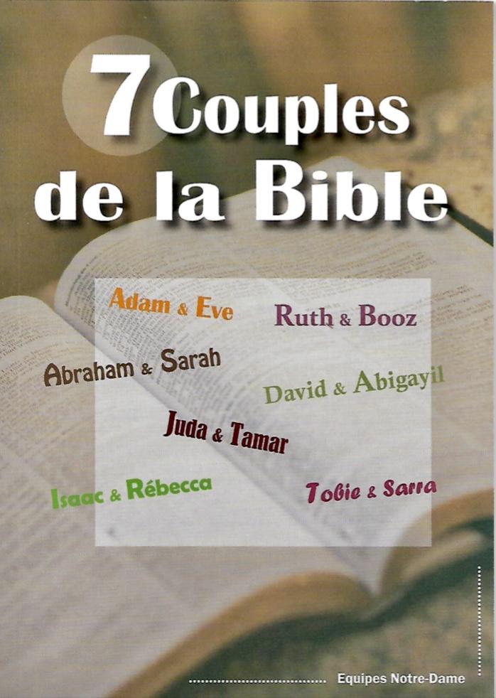 7 Couples de la Bible